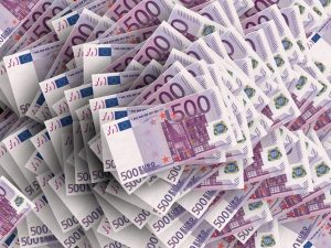 Banknoty 500 EURO